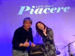 DUG&EVA+浜千代みはるライブ @ ピアチェーレ