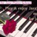 ジャズピアノ教本たくさんあるけれどこれがおすすめチャレンジしてね♪ わかる!弾ける!楽しい!